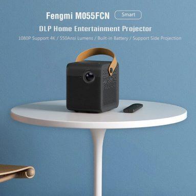 $ 545 GEARBEST से फेंग्मी M055FCN स्मार्ट डीएलपी होम एंटरटेनमेंट प्रोजेक्टर (Xiaomi इकोसिस्टम प्रोडक्ट) के लिए कूपन के साथ