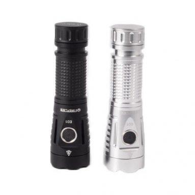 € 26 mit Gutschein für Fireflies E01 SST40W N5 5700K 2300 Lumen EDC LED Taschenlampe 21700 18650 - Silber von BANGGOOD