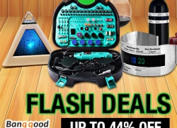 Flash Deals:  UP to 44% OFF for Home & Garden Category  from BANGGOOD TECHNOLOGY CO., LIMITED