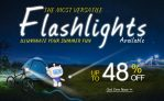 फ्लैशलाइट 48% OFF + DealExtreme से मुफ्त शिपिंग