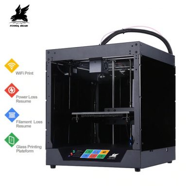 €286 with coupon for Flyingbear® Ghost FDM Metal 3D Printer from EU CZ warehouse BANGGOOD