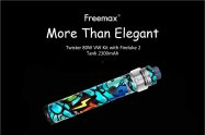 $39 with coupon for Freemax Twister 80W Kit with Fireluke 2 Tank 2300mAh – CHESTNUT RED from GearBest