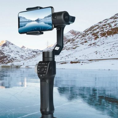 93 євро з купоном на Freevision Vilta M Pro 3-осьовий ручний стабілізатор для мобільних телефонів для смартфонів EU CZ СКЛАД від BANGGOOD