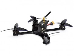 $160 with coupon for FuriBee DarkMax 220mm FPV Racing Drone  –  BNF WITH FRSKY RECEIVER  BLACK from GearBest