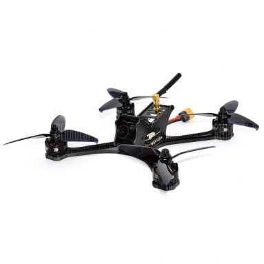 $129 flashsale for DarkMax 220mm FPV Racing Drone  –  BNF WITH DSMX RECEIVER  BLACK from GearBest
