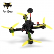 $169 with coupon for FuriBee Fuuton 200 200mm FPV Racing Drone – BNF – BNF BLACK from GearBest