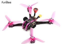 $169 with coupon for FuriBee GT 215MM Fire Dancer FPV Racing Drone  –  BNF WITH FRSKY RECEIVER  COLORMIX from GearBest