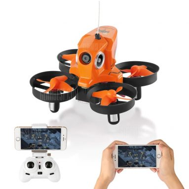 $ 13 con cupón para FuriBee H801 2.4GHz 4CH 6 Axis Gyro WiFi FPV Control remoto Quadcopter WiFi FPV - NARANJA de GearBest