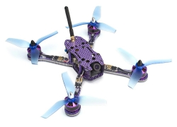 $125 with coupon for FuriBee Nebula 230 230mm FPV Racing Drone  –  PNP  PURPLE from GearBest
