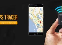 $ 4 với phiếu giảm giá cho GPS từ GF07 GPS từ xa theo dõi thời gian thực từ GearBest