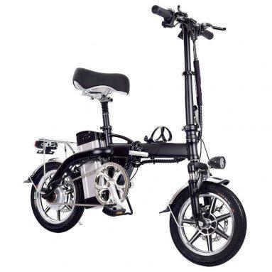 € 719 з купоном на складений електричний велосипед GYL004 14 дюймів шини 350 Вт Максимальна швидкість двигуна 35 км / год До діапазону до 35 км. Гальмо з подвійним диском EU GERMANY Склад від GEEKBUYING