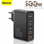 €33 with coupon for [GaN Tech] Baseus GaN2 Pro 100W USB PD 4-Port Wall Charger Dual 100W USB-C PD Dual 60W USB-A QC3.0 With 100W USB-C to USB-C Cable from BNAGGOOD