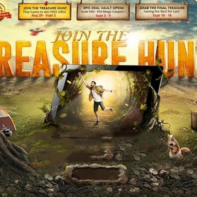 Join GearBest Epic Treasure Hunt Sale and save lots of $$$$$ – 10% discount coupon from GEARBEST