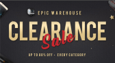 GEARBEST EPIC WAREHOUSE CLEARANCE SALE UP to 80٪ ALL CATEGORIES