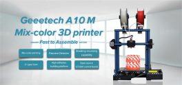 €209 with coupon for Geeetech® A10M Mix-color Prusa I3 3D Printer EU UK WAREHOUSE from BANGGOOD