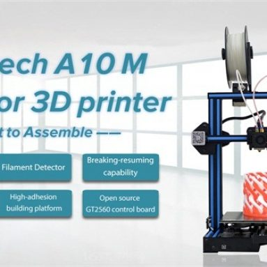 209 євро з купоном на Geeetech® A10M Змішаний кольоровий принтер Prusa I3 3D-принтер EU UK WAREHOUSE від BANGGOOD