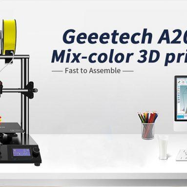 299 євро з купоном на Geeetech® A20M Змішаний кольоровий 3D-принтер EU CZ WAREHOUSE від BANGGOOD