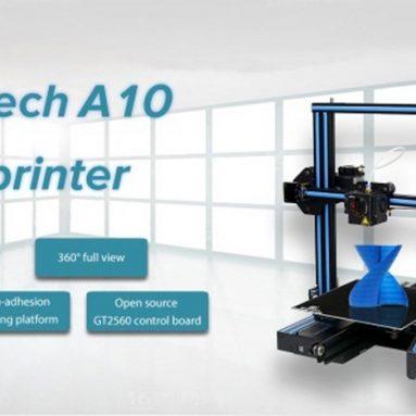 Geeetech A179 için kuponlu $ 10 Hızlı bir şekilde 3D Yazıcı 220 x 220 x 260mm - BLACK US PLUG GearBest