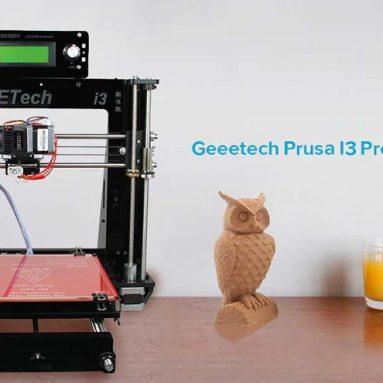 Geeetech I139 Pro B 3D Yazıcı DIY Takımı için kuponlu $ 3 - GearBest'den BLACK US PLUG