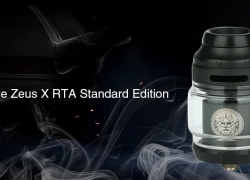 $21 with coupon for GeekVape Zeus X RTA Standard Edition – Silver from GearBest