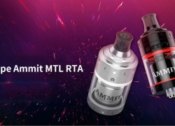$24 with coupon for Geekvape Ammit MTL RTA – GUNMETAL from GearBest