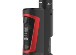 $58 with coupon for Geekvape GBOX Squonker 200W Box Mod Kit TPD Edition  –  BLACK AND RED from GearBest