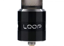$19 with coupon for Geekvape LOOP RDA  –  BLACK from GearBest