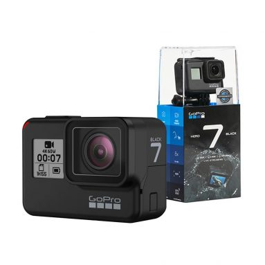$349 with coupon for GoPro HERO7 Black 4K Sports Action Camera from TOMTOP
