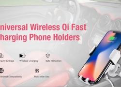 $ 6 sa kupon para sa Gocomma 10W QI Wireless Fast Charger Car Mount Holder mula sa GEARBEST