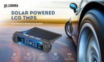 €21  -  Gocommaカータイヤタイヤホイールプレッシャーゲージワイヤレスソーラー外部テスターfrom GEARBEST
