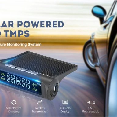 € 20 với phiếu giảm giá cho Gocomma Car Tyre Lốp lốp áp kế Máy đo áp suất mặt trời không dây từ GEARBEST