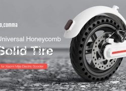 $17 with coupon for Gocomma Solid Tire for Xiaomi M365 Electric Scooter – BLACK from GearBest