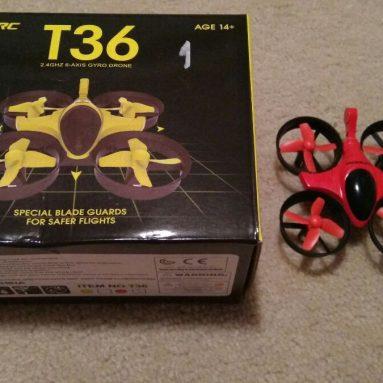 GooIRC Scorpion T36 MINI RC Quadcopter Thiết kế, Phần cứng, Tính năng, Đánh giá thực