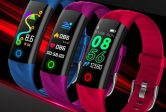 $ 12 med kupon til Goral S5 Stilfuld Design Farve Display Smart Watch fra BANGGOOD