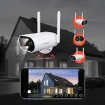 60€ με κουπόνι για Guaseye 2K/3MP WIFI Outdoor Security Camera Solar Powered 25m Color Night Vision 180° Remote Pan-Tilt IP65 Αδιάβροχη κάμερα ασφαλείας με ηλιακό πάνελ και κάρτα SD 32GB που περιλαμβάνεται από την BANGGOOD