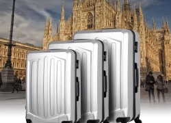 30% OFF TOMSHOO Luxury 3PCS Spinner Luggage Set,limited offer $70.28 from TOMTOP Technology Co., Ltd