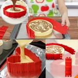$3.99 for 4pcs Snake Food Grade Silicone Cake Mold,limited offer from TOMTOP Technology Co., Ltd