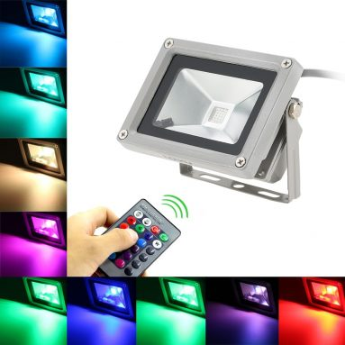 63% OFF 10W RGB LED Flood Light Waterproof Landscape Lamp,limited offer $7.99 from TOMTOP Technology Co., Ltd