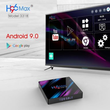 €28 with coupon for H96 MAX RK3318 4GB RAM 64GB ROM 5G WIFI bluetooth 4.0 Android 9.0 4K VP9 H.265 TV Box from BANGGOOD