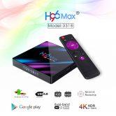 $ 29 mit Gutschein für H96 MAX TV-Box RK3318 4GB RAM 64GB ROM 5G WiFi von GEARVITA