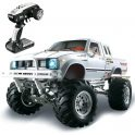€168 with coupon for HG P407 1/10 2.4G 4WD Rally Rc Car for TOYATO Metal 4X4 Pickup Truck Rock Crawler RTR Toy – Black from BANGGOOD