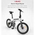 € 668 avec coupon pour HIMO C20 10Ah 36V 250W 20 Vélomoteur électrique pliable en pouces Vélo Moteur sans balai 100kg Charge max. 23.7km / h Vitesse maximale 80km Kilométrage Vélo électrique encastré US Plug - Blanc UK WAREHOUSE de BANGGOOD