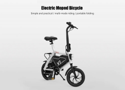 $ 469 z kuponem dla HIMO V1 Rower składany Motorower elektryczny z Xiaomi Youpin E-bike - WHITE z GearBest