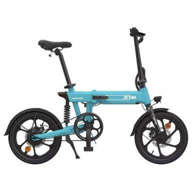€ 579 na may kupon para sa [EU Direct] HIMO Z16 10Ah 36V 250W Moped Electric Bike Fold Bike 25km / h Max Speed 80km Mileage Max Load 100kg 3 Modes Xiaomi Youpin - Gray mula sa warehouse ng EU UK BANGGOOD