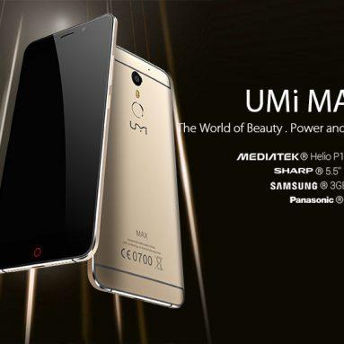 $ 5 Vypnuté pre UMI MAX od CooliCool.com