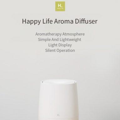 € 14 mit Gutschein für HL Happy Life Aromatherapiegerät 120ML Nachtlicht-Luftbefeuchter Luft-Aroma-Diffusor Essentiel Oil Aromatherapiegerät Mist Maker von BANGGOOD