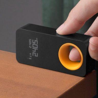 27 € s kuponom za HOTO pametni laserski mjerač udaljenosti 30m laserski daljinomjer OLED zaslon USB punjiva vanjska unutarnja lova Može se povezati s mobitelom tvrtke BANGGOOD