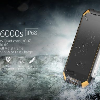 Blackview BV6000S IP68 Vandtæt, Støvfast, Dropproof Mobiltelefon fra Osell DinoDirect China Ltd