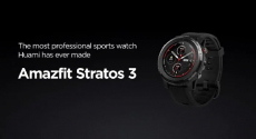162 € avec coupon pour HUAMI AMAZFIT Stratos 3 Smart Sports Watch 1.34 pouces Full Moon Screen Dual-Mode 5ATM GPS Firstbeat Strap Silicone Version Global de GEEKBUYING