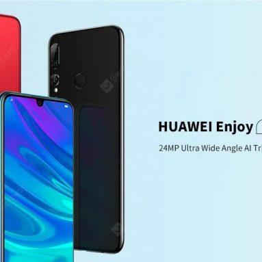 $ 169 với phiếu giảm giá cho HUAWEI Thưởng thức điện thoại thông minh 9S 4G 6.21 inch EMUI 9.0 Kirin 710 Octa Core 4GB RAM 128GB ROM từ GEARBEST
